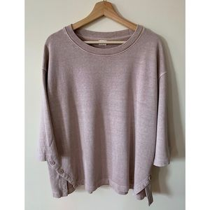 Poetry • 18 • Hemp/Cotton French Terry Pullover